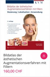 Cover Bildatlas der ästhetischen Augmentationsverfahren mit Fillern