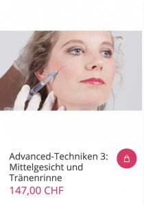 Cover Advanced-Techniken 3: Mittelgesicht und Tränenrinne